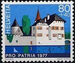 Switzerland 1977 PRO PATRIA - Castles d