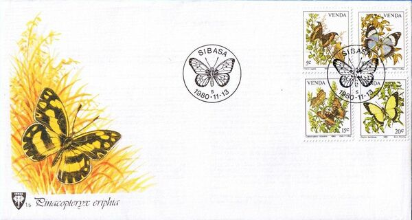 Venda 1980 Butterflies i