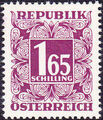 Austria 1950 Postage Due Stamps - Square frame with digit (2nd Group) c.jpg