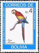 Bolivia 1981 Macaws a
