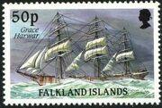 Falkland Islands 1989 Ships of Cape Horn m