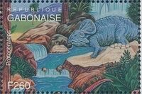 Gabon 1995 Prehistoric Wildlife zd