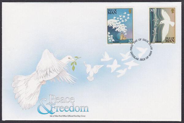 Isle of Man 1995 Peace and Freedom k