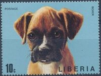 Liberia 1974 Dogs b