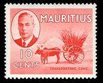Mauritius 1950 Definitives f