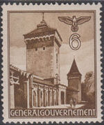 Poland-General Government 1940 Buildings (1st Group) a