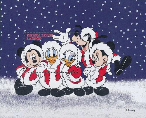 Sierra Leone 1997 Disney Christmas Stamps SSb