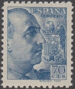 Spain 1939 General Franco - 1st Group g