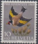 Switzerland 1969 PRO JUVENTUTE - Birds a