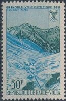 Upper Volta 1967 10th Winter Olympic Games, Grenoble b