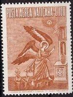 Vatican City 1956 Archangel Gabriel h