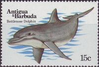 Antigua and Barbuda 1983 Whales Porpoises and Dolphins a