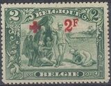 Belgium 1918 King Albert I (Red Cross Charity) l