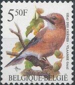 Belgium 1993 Birds a