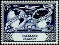Falkland Islands 1949 75th Anniversary of Universal Postal Union UPU b.jpg