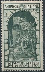 Italy 1934 10th Anniversary of Annexation of Fiume g