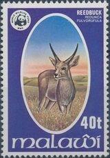 Malawi 1978 WWF Wildlife d