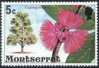 Montserrat 1976 Flowering Trees d