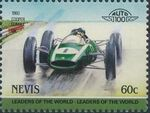 Nevis 1985 Leaders of the World - Auto 100 (3rd Group) r