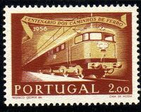 Portugal 1956 Centenary of Portuguese Railways c