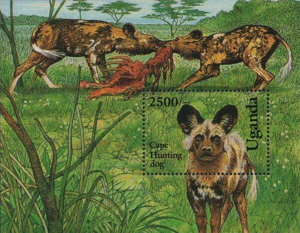 Uganda 1993 Dogs Sa