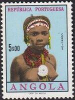 Angola 1961 Native Women from Angola k