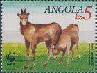 Angola 1990 WWF - Giant Sable Antelope d