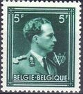 Belgium 1944 King Leopold III Crown and V g