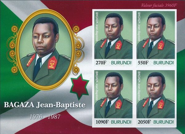Burundi 2012 Presidents of Burundi - Jean-Baptiste Bagaza h
