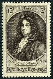 France 1949 250th Anniversary of the Death of Jean Racine a