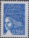 France 2002 Definitive Issue - Marianne de Luquet i