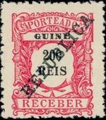 Guinea, Portuguese 1911 Postage Due Stamps i