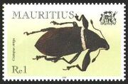 Mauritius 2000 Insects (Beetles) a