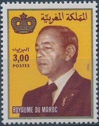 Morocco 1983 King Hassan II d