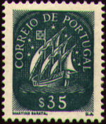 Portugal 1943 Portuguese Caravel (2nd Issue) d
