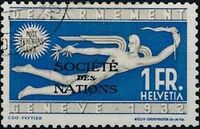 Switzerland 1932 Official Stamps for the International Labor Bureau f