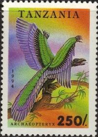 Tanzania 1994 Prehistoric Animals f