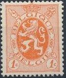 Belgium 1929 Arms - Heraldic Lion a
