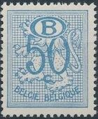 Belgium 1952 Official Stamps (Heraldic Lion with Numeral and B in oval) d