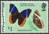 Belize 1974 Butterflies of Belize m