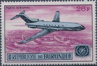 Burundi 1967 Opening of the Jet Airport at Bujumbura and International Tourist Year d