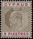 Cyprus 1904 King Edward VII f