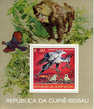 Guinea-Bissau 1978 Endangered Species k