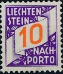 Liechtenstein 1928 Postage Due Stamps (Swiss Administration of the Post Office) b