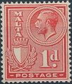 Malta 1926 King George V and Coat of Arms c.jpg