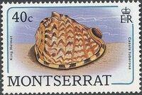 Montserrat 1988 Sea Shells f