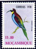 Mozambique 1978 Birds f