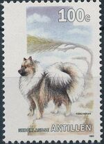 Netherlands Antilles 1993 Dogs c