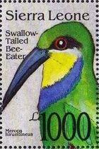 Sierra Leone 1992 Bird's Heads j