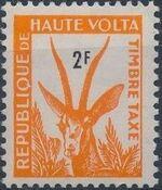Upper Volta 1962 Gazelle b